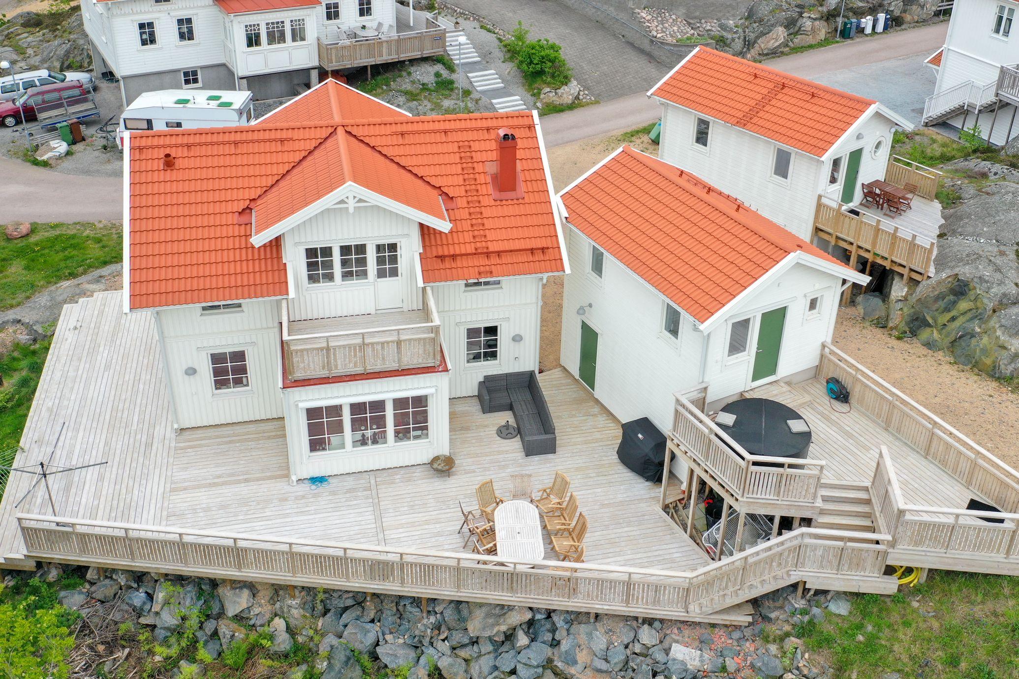 Dala trähus nytt hus byggt klassiskt skärgård