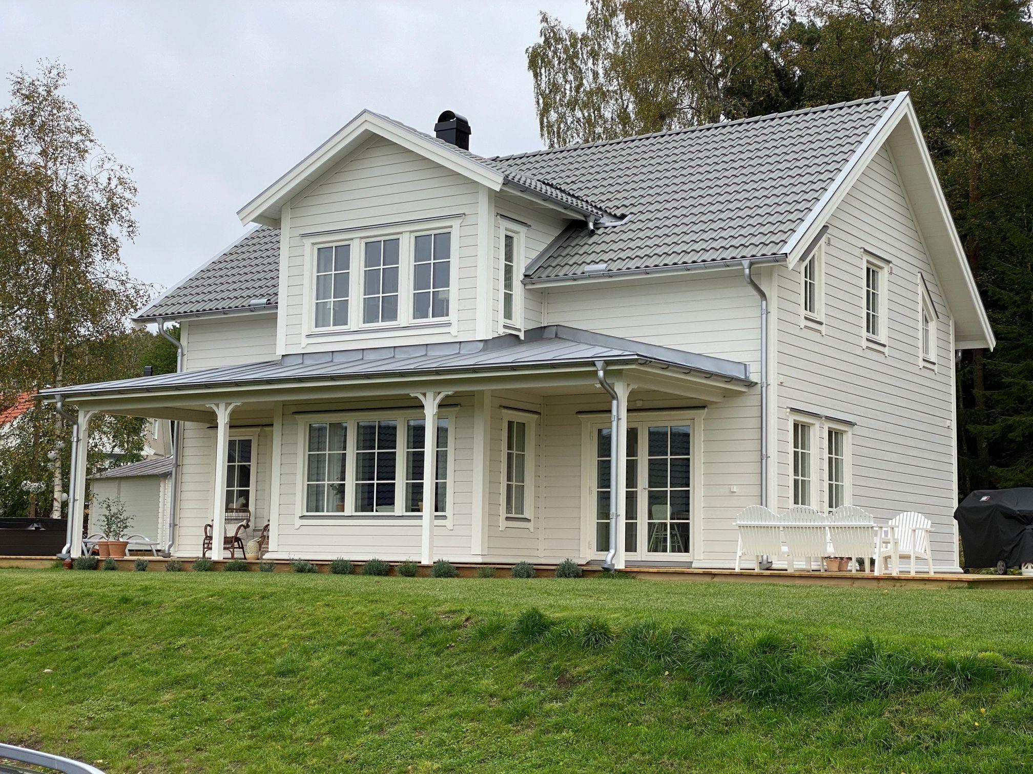villa domherren special, klassiskt hus med fina detaljer