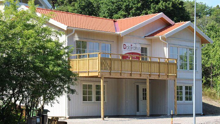 Dala trähus hus nytt hus