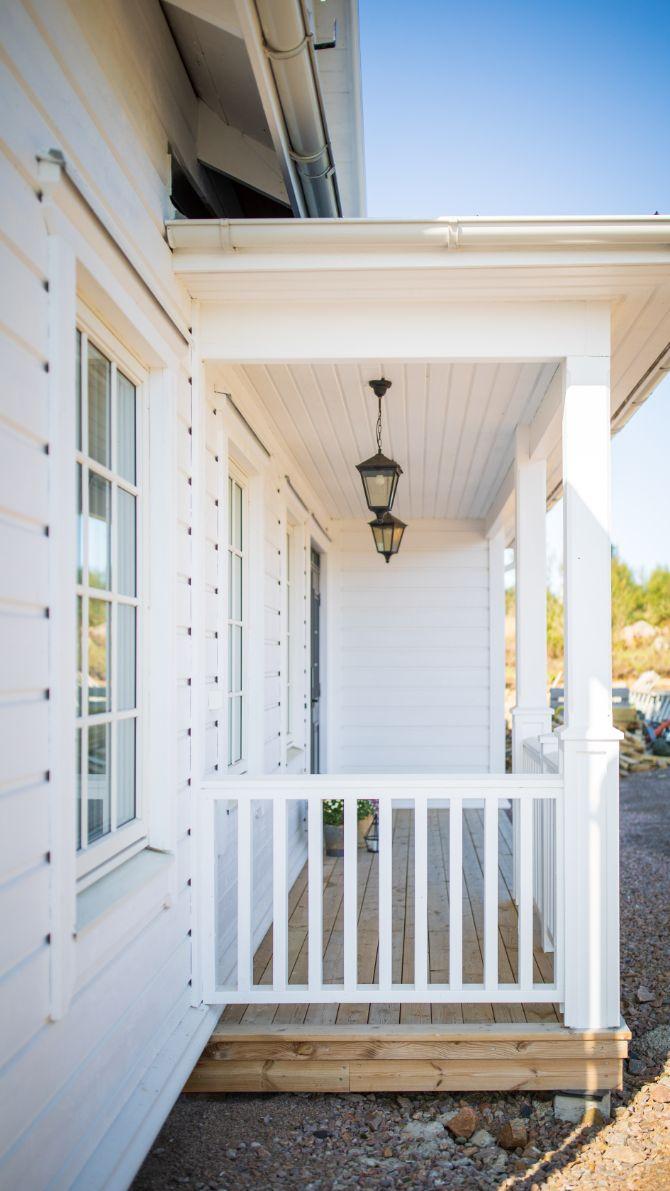 Dala Trähus new england stil klassiskt hus